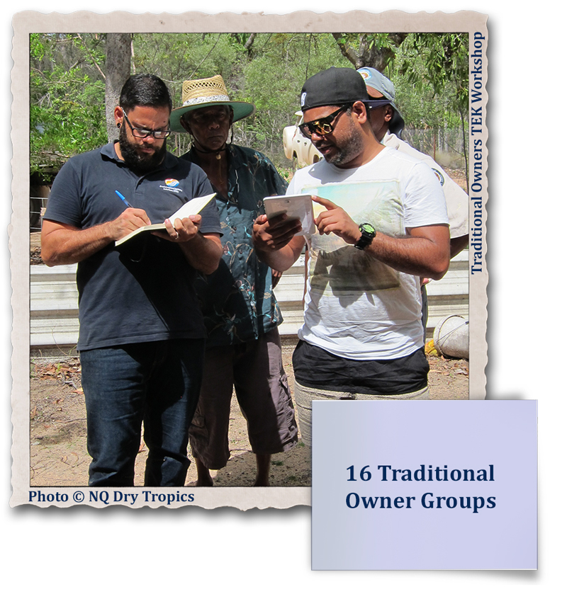 16 Traditional Owner Groups